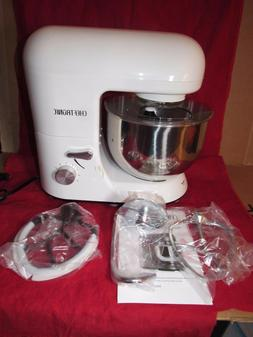 NEW Cheftronic Powerful 650w Planetary Stand Mixer 5.5qt Bow
