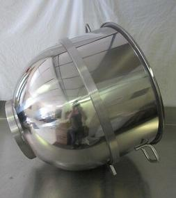 New Stainless Steel 80qt Bowl for Hobart M802 & L800 Mixers