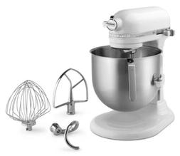 KitchenAid NSF Certified White Stand Mixer