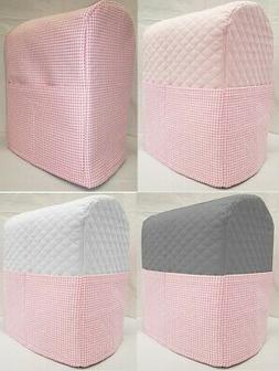 Pink Checked Cover Compatible with Kitchenaid Stand Mixer