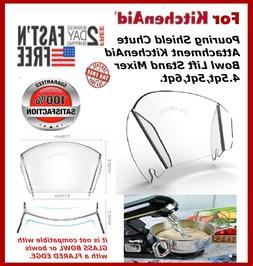 Pouring Shield, JOYMOOD Universal Pouring Chute for KitchenA