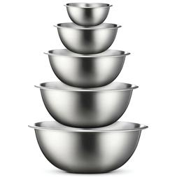 Premium Stainless Steel Mixing Bowls  Cooking, Baking, Prepp
