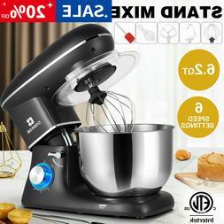 pro electric food stand mixer 6 2qt