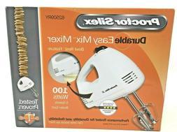 Proctor Silex 5-Speed Hand Mixer, White, 62509R, New, Free S