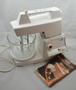 regency 12 speed kitchen center mixer works