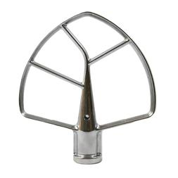 Replacement 6 Quart Stand Mixer Flat Steel Beater for Kitche
