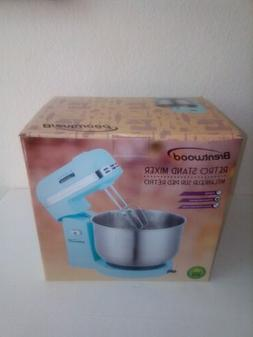retro stand mixer model sm 1162bl 5