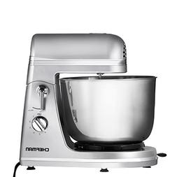 Chefman RJ32-S Legacy Series Power Stand Mixer, Silver