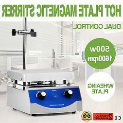 SH-3 Hot Plate Magnetic Stirrer Mixer Stirring Laboratory 30