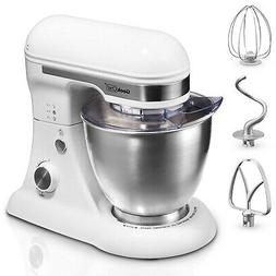 Geek Chef Stainless Steel 4.8 Qt Bowl 12 Speed Baking Food S