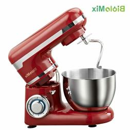 Stainless Steel Bowl 1200W 6-speed Household Kitchen Electri