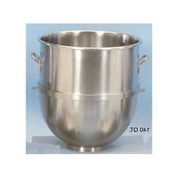 Stainless-Steel Mixer Bowl, 140 quart -  for Hobart 140qt. M