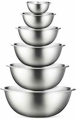 Stainless Steel Mixing Bowls  Polished Mirror Finish Nesting