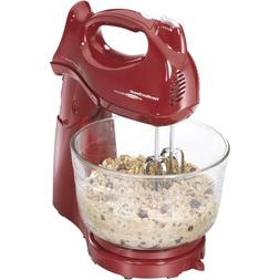 Professional Stand Handheld Mixer Electric with Bowl. Beater