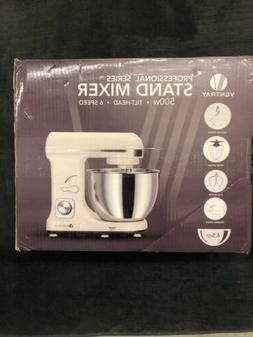 Ventray Stand Mixer 6-Speed 4.5-Quart Stainless Steel Bowl P