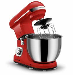 Stand Mixer 6 Speed Beater Pouring Shield Kitchen Appliance