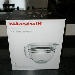 KitchenAid Stand Mixer Accessory Kit F Series 6 Qt Glass Bow