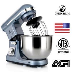 MURENKING Stand Mixer MK37 500W 5-Qt Bowl 6-Speed Tilt-Head