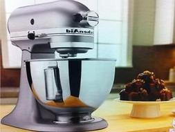 New Kitchenaid Stand Mixer Tilt 4.5-quart Ksm85pbsm All Meta