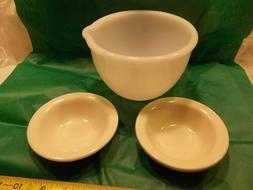 CRESTWARE Syscoware Ceramic Bowls,Bright White, Mixer Bowl w