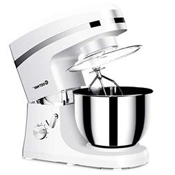 Costway Tilt-head Stand Mixer 5.3Qt 6-Speed 120V/800W Electr