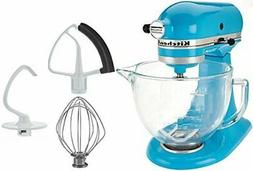 KitchenAid 5-Qt. Tilt-Head Stand Mixer with Glass Bowl and F