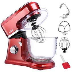 【Upgraded】Betitay Electric Stand Mixer wth 4.0-Quart Gla