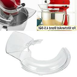 4.5-5QT Bowl Lid Pouring Shield Tilt Head For Kitchen Aid St