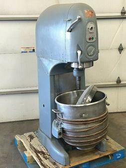 Vintage Hobart 140 Qt Mixer 3HP - 220V - 3 Phase - Bowl & Pa