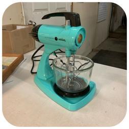 Vintage Sunbeam Kitchen Mixer Turquoise