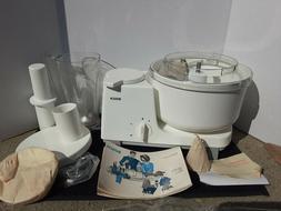 Vintage NOS NEW Bosch universal mixer~  W Blender And attach