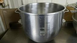 VMLH 60 Quart Stainless Steel Mixing Bowl for Hobart Mixers