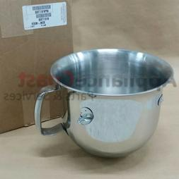 W10177650 NEW OEM Mixer Bowl 6 Quart by Whirlpool