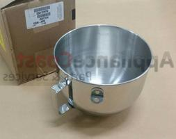 W10716820 NEW OEM Mixer Bowl w Handle Whirlpool 9707678 KN25