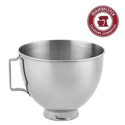 Whirlpool Polished Stainless Steel 4.5 Quart Bowl with Handl