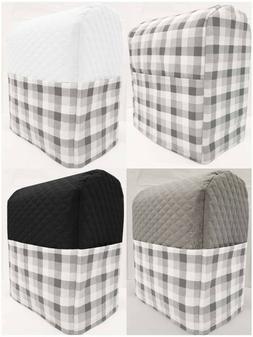 White & Gray Buffalo Checked Cover Compatible with Kitchenai
