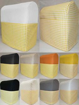 Yellow & White Checked Cover Compatible with Kitchenaid Stan